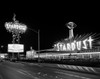1960s Night Scene Of The Stardust Casino Las Vegas Nevada Usa Poster Print By Vintage Collection (22 X 28) - Item # PPI172443LARGE