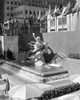 1950s Rockefeller Center Prometheus Fountain By Paul Manship And United Nations Flags New York City Ny Usa Print By - Item # PPI195873LARGE