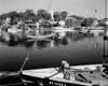1960s Boats Dock Harbor Maine Usa Poster Print By Vintage Collection (22 X 28) - Item # PPI178808LARGE
