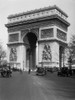 1920s Arc De Triomphe With Cars Paris France Poster Print By Vintage Collection (24 X 36) - Item # PPI178914LARGE