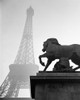 1920s Horse Statue At Base Of Eiffel Tower Paris France Poster Print By Vintage Collection (22 X 28) - Item # PPI178940LARGE