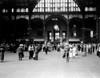 1930s Pennsylvania Penn Station New York City Railroad Station People Passengers Travelers Transportation Print By - Item # PPI178971LARGE