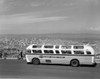1950s Sightseeing Tour Bus Parked At Twin Peaks For View Of San Francisco And Bay Area California Usa Print By Vintage - Item # PPI178672LARGE