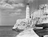 1930s-1940s Lighthouse At Morro Castle Havana Bay Havana Cuba Poster Print By Vintage Collection - Item # VARPPI178647