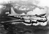 1940s World War Ii Airplane Boeing B-17E Bomber Flying Through Clouds Poster Print By Vintage Collection - Item # VARPPI176394