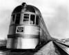 1930s-1940s Engine Head On Of Burlington Route Railroad Streamliner Denver Zephyr Chicago To Denver Usa Print By Vintage - Item # PPI178767LARGE
