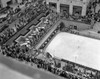 1940s Crowd Watching Skater Rockefeller Center Ice Skating Rink Midtown Manhattan New York City Print By Vintage - Item # VARPPI178944