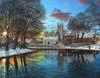 Winter Evening, Tickhill, Yorkshire Poster Print by Richard Harpum - Item # VARMGL21487