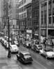 1940s Rainy Day On Chestnut Street Philadelphia Pa Cars Pedestrians Storefronts Print By Vintage Collection - Item # PPI172468LARGE