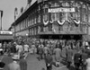 1940s October 1947 Dodger Baseball Fans Pour Into Main Entrance Ebbets Field Brooklyn Borough New York City Usa Print By - Item # PPI195835LARGE