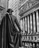 1970s New York City Stock Exchange On Wall Street From Federal Hall Behind George Washington Statue Print By Vintage - Item # VARPPI178909