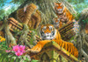 Temple Tigers Poster Print by John Francis - Item # VARMGL28068