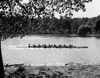1930s Silhouette Sculling Boat Race On The Schuylkill River Between East And West River Drives Philadelphia Pa Usa Print - Item # PPI177134LARGE