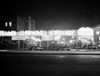 1930s New And Used Car Lot At Night Automobile Sales Sixth Avenue & Waverly Street Greenwich Village New York City Usa - Item # PPI178516LARGE