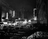 1940s Night Street Scene West 52Nd Street Lights From Numerous Clubs And Nightclubs New York Usa Print By Vintage - Item # PPI195833LARGE