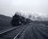 1940s-1950s Speeding Steam Locomotive Passenger Train Near Port Jervis New York Usa Print By Vintage Collection - Item # PPI178937LARGE