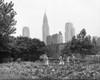 1940s-1943 Children Working In Victory Gardens In St. Gabriel'S Park New York City Chrysler Building Visible In - Item # VARPPI195765