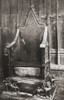 The Coronation Chair, Westminster Abbey, City Of Westminster, London, England. Here Seen With The Stone Of Scone. From London, Historic And Social, Published 1902. PosterPrint - Item # VARDPI2220899