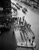 USA  Massachusetts  Boston  Park Square  traffic during day  high angle view Poster Print - Item # VARSAL255416624