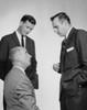 Three businessmen talking Poster Print - Item # VARSAL25548033