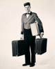 Portrait of a bellhop carrying luggage Poster Print - Item # VARSAL2553050