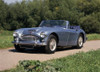 1965 Austin Healey 3000 Mk III convertible 2.9 litre, straight 6 cylinder OHV, 2-door, 4-seater. Country of origin United Kingdom. Poster Print - Item # VARPPI170413