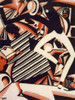 Interpretation of Harlem Jazz 1917-1920 Poster Print by  Winold Reiss (8 x 10) - Item # MINPPHPDA71853