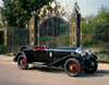 1929 Bentley 4.5 litre drophead coupe with dickey. Country of origin United Kingdom. Poster Print - Item # VARPPI170327
