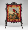 Cheval fire screen Poster Print by Panel attributed to Thomas Moore (8 x 10) - Item # MINMET203858