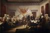 Signing the Declaration of Independence, John Trumbull (8 x 10), United States Capitol, Washington D.C., USA Poster Print (8 x 10) - Item # MINSAL900128422