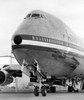 Close-up of an airplane at an airport, Boeing 747 Poster Print (8 x 10) - Item # MINSAL2556872