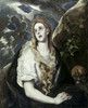 St. Mary Magdalene In Penitence  1580-85  El Greco  Oil on canvas  Nelson-Atkins Museum of Art  Kansas City  MO  USA Poster Print - Item # VARSAL260289