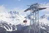 Peak 2 Peak gondola which runs between the high alpine of Whistler and Blackcomb Mountains; Whistler, British Columbia, Canada PosterPrint - Item # VARDPI12253199