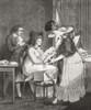 18th century lady at her morning toilette. From Illustrierte Sittengeschichte vom Mittelalter bis zur Gegenwart by Eduard Fuchs, published 1912. PosterPrint - Item # VARDPI2430171