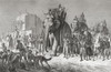 An Indian Hunting Party Riding Elephants, Prepares To Set Out On A Tiger Hunt In The 19Th Century. From El Mundo En La Mano, Published 1878. PosterPrint - Item # VARDPI1958404