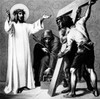 Jesus is Made to Bear His Cross by Martin Ritter von Feuerstein  oil painting  circa 1898  1856 - 1931  Germany  Munich  Saint Anna Church Poster Print - Item # VARSAL9951200