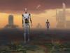 Androids explore an alien planet Poster Print - Item # VARPSTMAS100139S
