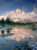 Fv2065, Natural Moments Photography; Mt. Kidd In Winter PosterPrint - Item # VARDPI2015287