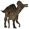 Corythosaurus duck-billed dinosaur. Corythosaurus is a herbivorous hadrosaurid that lived in North America during the Cretaceous Period Poster Print - Item # VARPSTCFR200524P