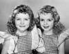 Portrait of twin girls smiling Poster Print - Item # VARSAL2553217