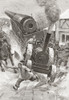 Tractor Hauling Cannon In Late 19Th Century Loses Control. From The Strand Magazine, Published 1896 PosterPrint - Item # VARDPI2334050