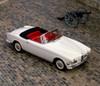 1957 BMW 503 Cabriolet, V8 3.2 litre OHV engine producing 140bhp, 4-seat, 2-door. Designed by Count Albrecht von Goertz. Country of origin Germany. Poster Print - Item # VARPPI170343