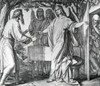 Abraham Receives the Message from God that he Shall Have a Son by Julius Schnorr von Carolsfeld   Poster Print - Item # VARSAL995103183