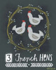 3 French Hens Poster Print by Katie Doucette - Item # VARPDXKA1661