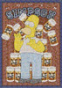 Homer Simpson Duff Collage Poster Poster Print by - Item # VARXPP1156