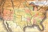 Antique USA Map Poster Poster Print - Item # VARSCO10405