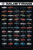 Ford - Mustang Evolution Poster Poster Print - Item # VARNMR241186