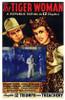 Tiger Woman Movie Poster (11 x 17) - Item # MOV200693