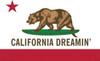 California Dreamin' - Flag Poster Poster Print - Item # VARNMR241174