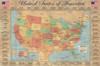Map of the USA Poster Poster Print - Item # VARPYRPAS0353